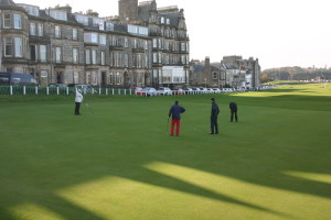 18th hole at St. Andrews