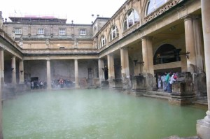 Roman Baths still an incredible sight.