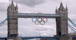 The Tower Bridge During the Olympics