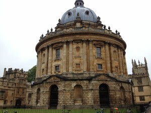 The famous library known as Radcliffe Camera in Oxford
